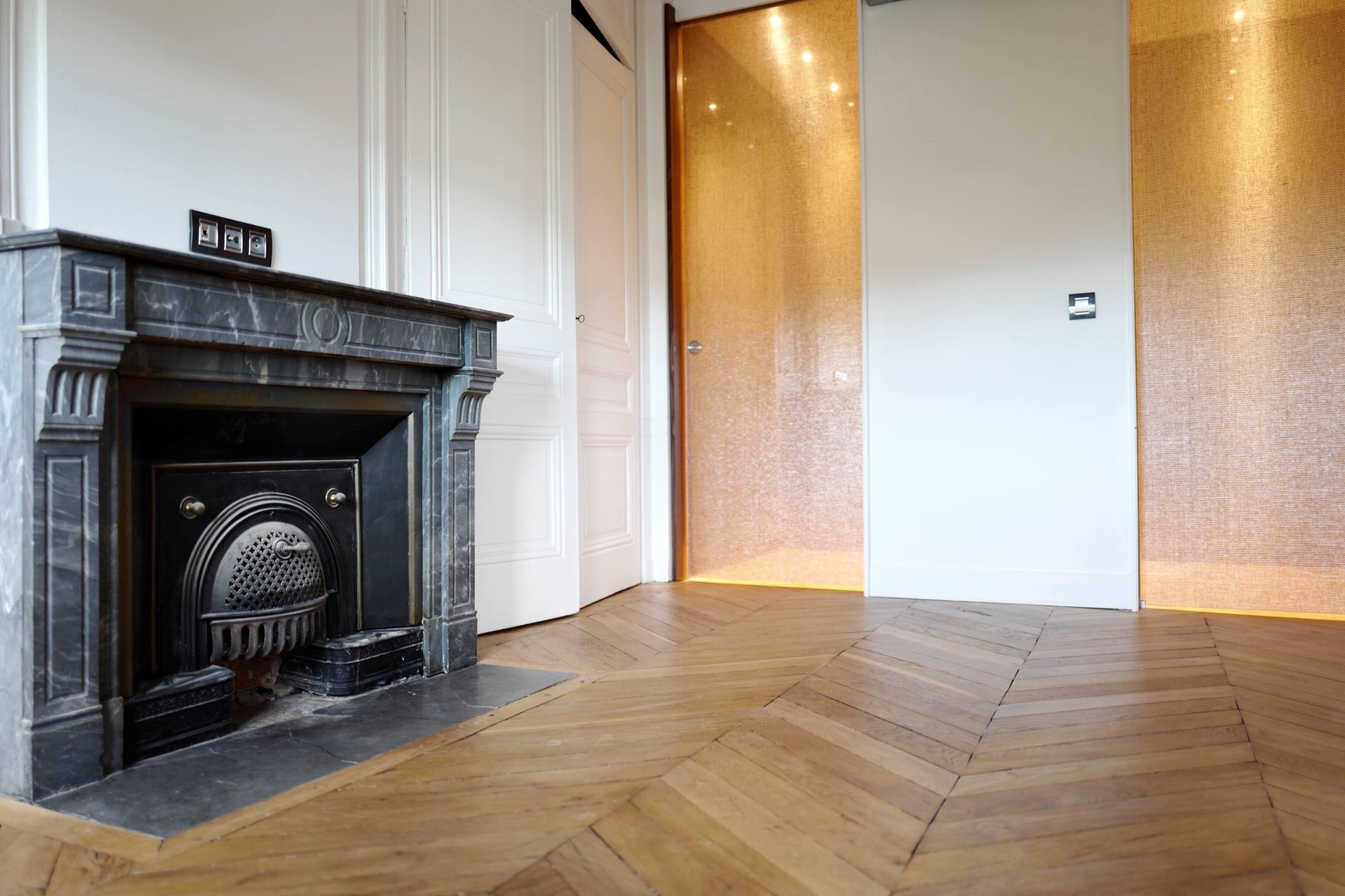 Rénovation d\'un appartement Haussmannien à Lyon 6e