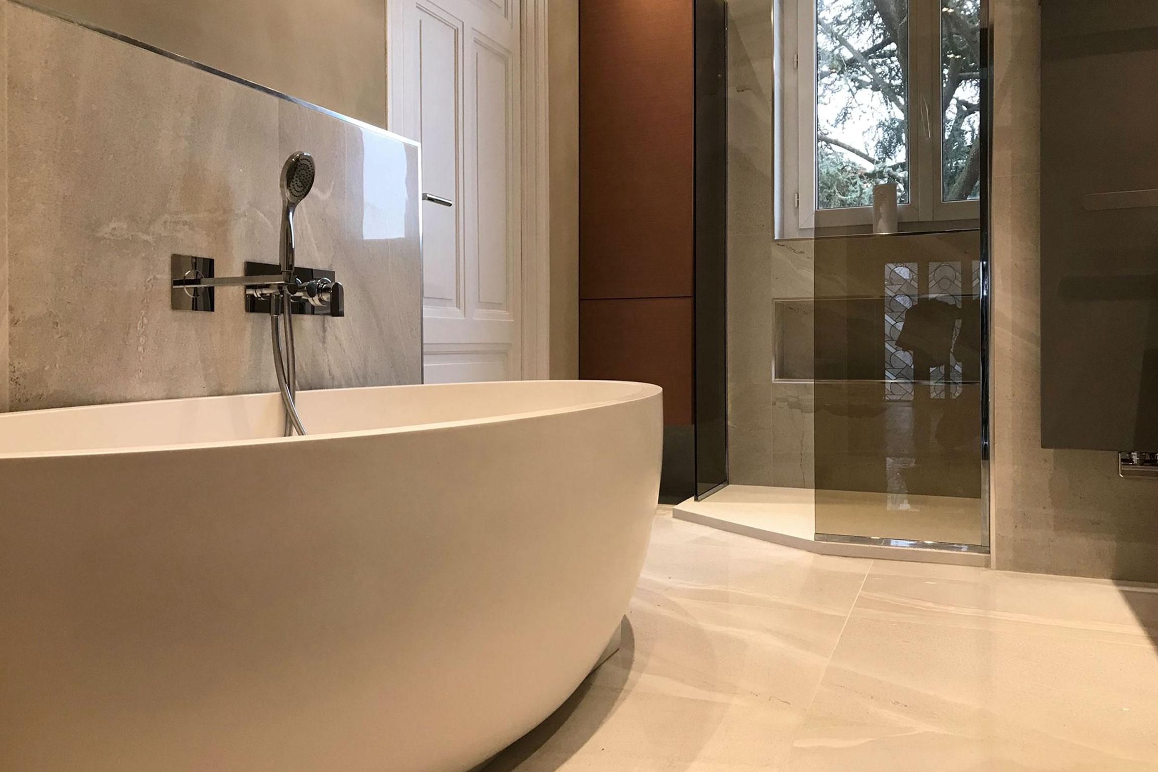 Rénovation d\'une salle de bains Lyon / Ecully
