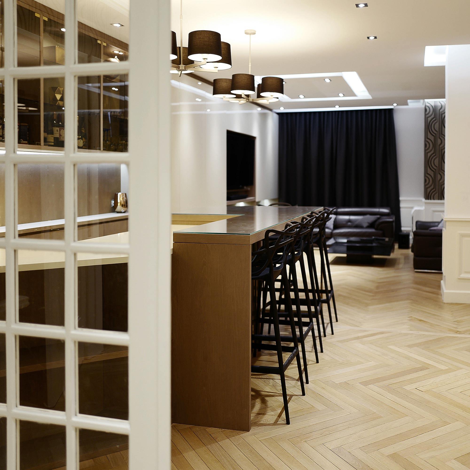 Habiller Un Poteau Interieur rénovation d'un appartement art-déco à lyon